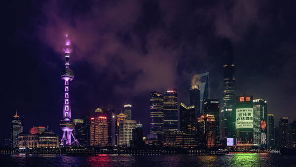 Photograph - From The Bund II by Nisah Cheatham