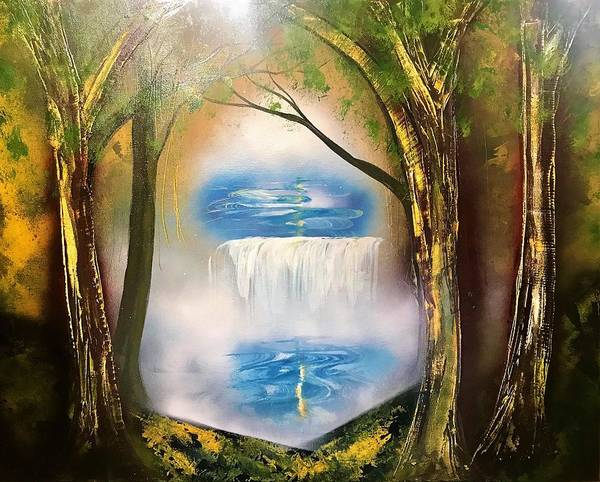 Wall Art - Painting - From The Forest by Willy Proctor