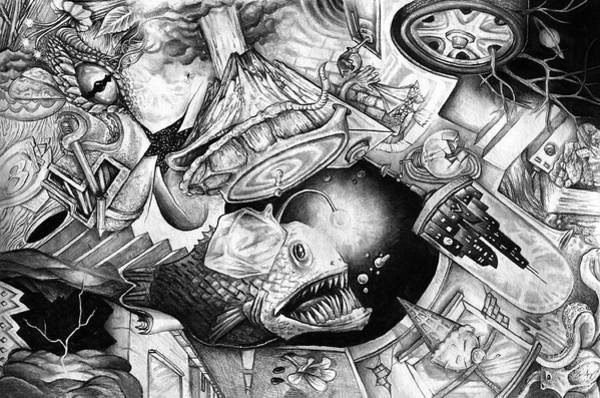 Drawing - From The Mind 1 by Aaron Spong