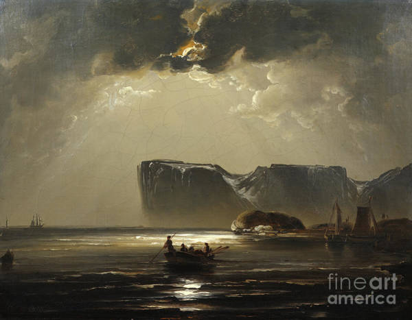 Exterior Painting - From The North Cape by Peder Balke