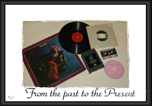 Janis Joplin Photograph - From The Past To The Present by Wanda-Lynn Searles