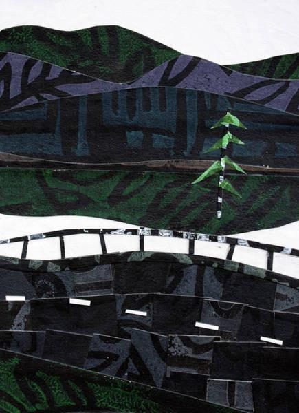 Sparrow Mixed Media - From The Road #11 by Janyce Boynton