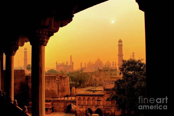 Mughal Empire  Art Print