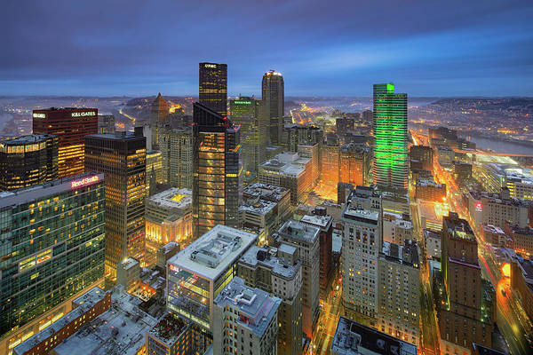 Photograph - Top Of Pittsburgh  by Emmanuel Panagiotakis