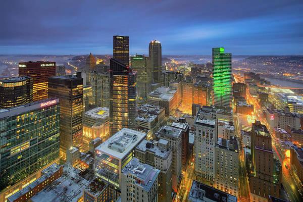 Wall Art - Photograph - Top Of Pittsburgh  by Emmanuel Panagiotakis