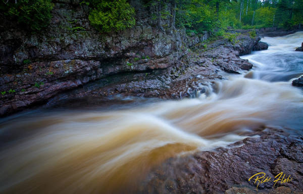 Photograph - From The Top Of Temperence River Gorge by Rikk Flohr