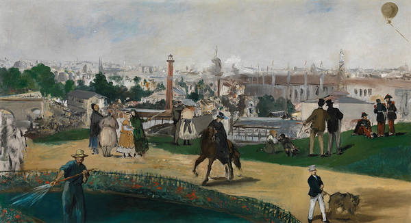 Painting - From The World Exhibition In Paris In 1867 by Edouard Manet