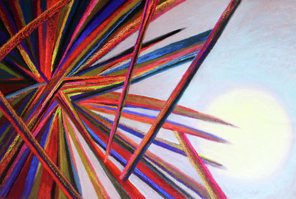 Painting - From Violence To Hope by Polly Castor