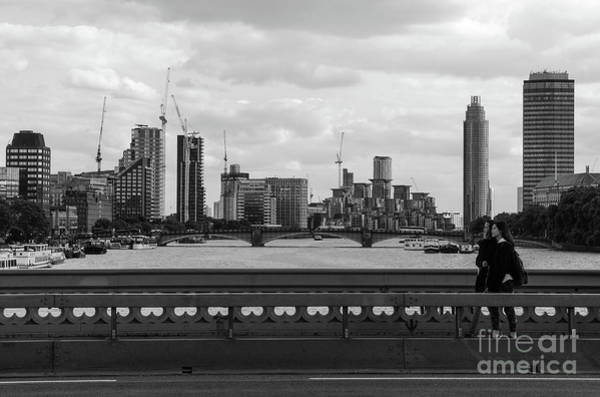 Photograph - From Westminster Bridge, London by Perry Rodriguez