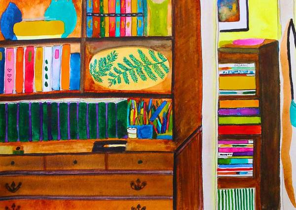 Painting - From Where I Sit by Polly Castor
