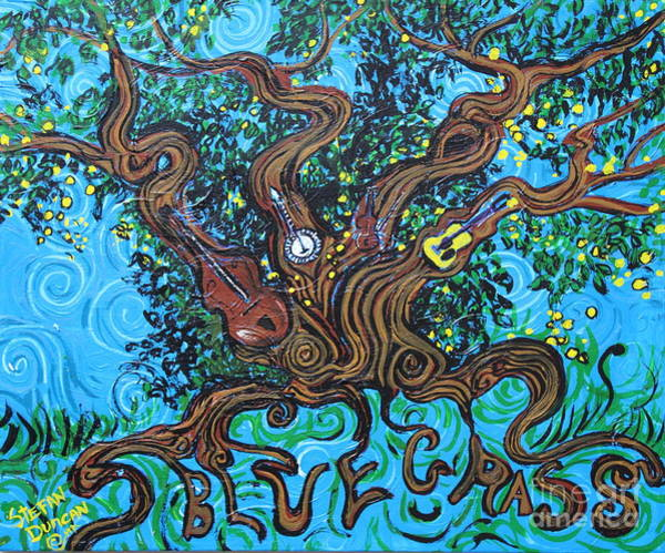 Painting - From Wood To Bluegrass by Stefan Duncan