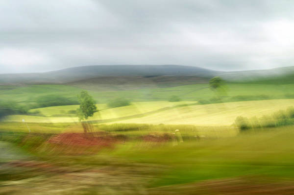 Art Print featuring the photograph heading north of Yorkshire to Lake District - UK 1 by Dubi Roman