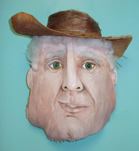 Caricature Mixed Media - Fronderosa From The West Of Florida by Ellen Burns