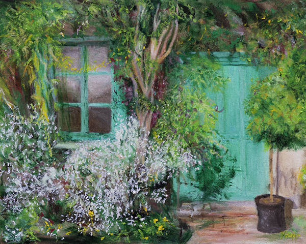 Painting - Front Door by Kathy Knopp