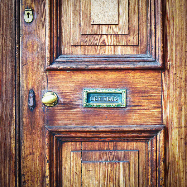 Mailbox Photograph - Front Door by Tom Gowanlock