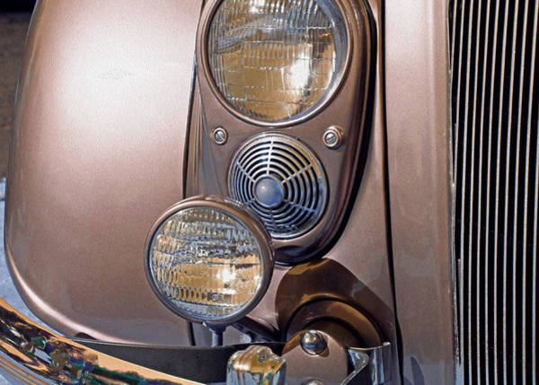 Photograph - Front Lamps 5 by Lynda Lehmann