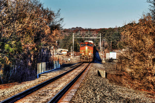 Photograph - Front Of The Train In Birmingham Alabam by Michael Thomas