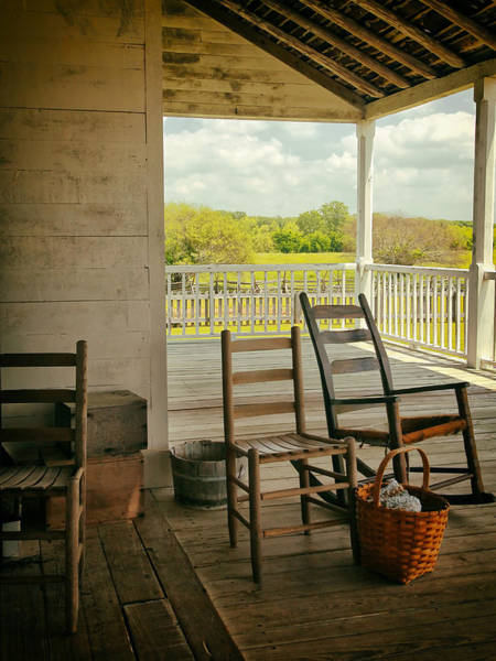 Photograph - Front Porch by Charles McKelroy