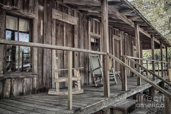 Photograph - Front Porch by Judy Hall-Folde