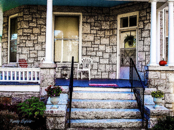 Photograph - Front Porch by Randy Sylvia