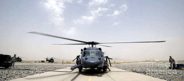 Airbase Photograph - Front View Of An Hh-60 Pave Hawk by Stocktrek Images