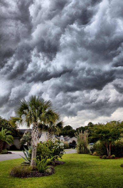 Lowcountry South Carolina Photograph - Frontal Clouds by Dustin K Ryan