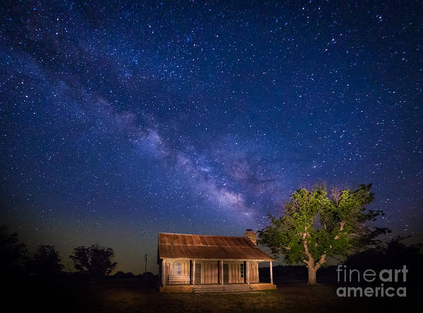 Frontier Photograph - Frontier House by Inge Johnsson