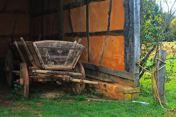 Wall Art - Photograph - Frontier Wagon by Kevin Wheeler