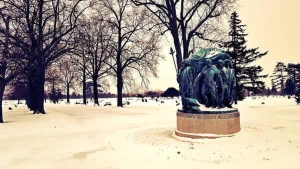 Frozen Tundra Digital Art - Frost Giants by 2141 Photography