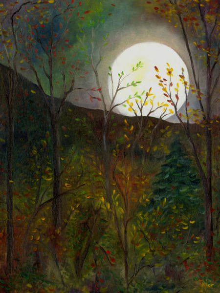 Painting - Frost Moon by FT McKinstry