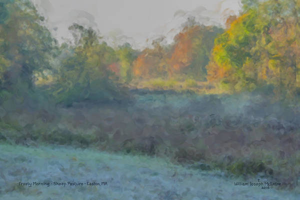 Painting - Frost On The Meadows by Bill McEntee
