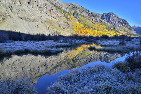 Photograph - Frosty Fall Morning Along Alpine Loop by Ray Mathis