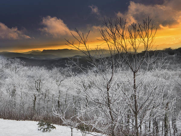 Photograph - Frosty Sunset by Ken Barrett