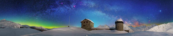 Photograph - Frozen Galaxy by Ralf Rohner
