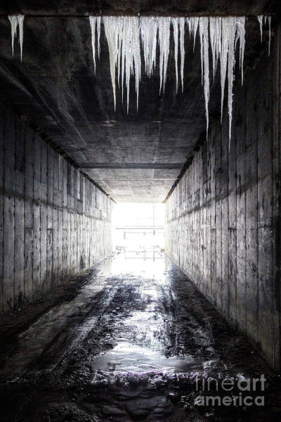 Photograph - Frozen Gateway by Spencer Baugh