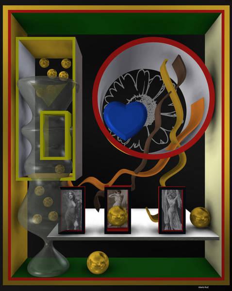 Digital Art - Frozen Heart 1 by Alberto  RuiZ