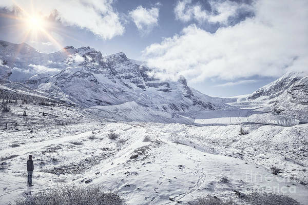 Canadian Rocky Mountains Photograph - Frozen In Time by Evelina Kremsdorf