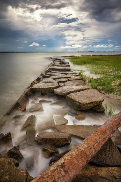 Photograph - Frozen In Time - Sullivan's Island, Sc by Donnie Whitaker