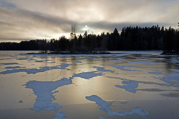 Photograph - Frozen Lake by Aivar Mikko