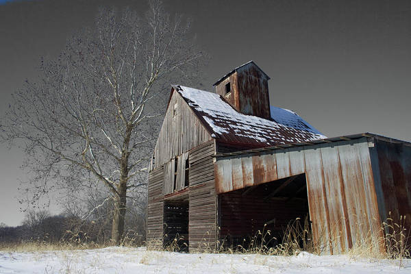 Lean-tos Photograph - Frozen Letcher by Dylan Punke