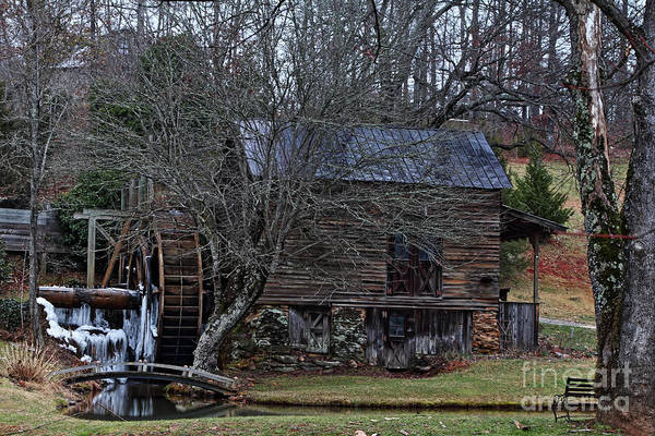 Wall Art - Photograph - Frozen Mill by Rick Mann