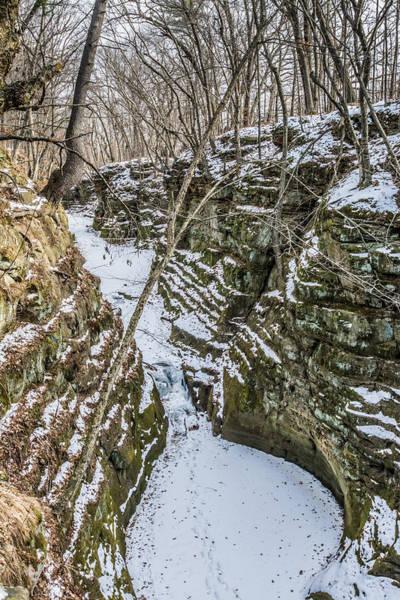 Photograph - Frozen Pewits Nest From Above by Randy Scherkenbach