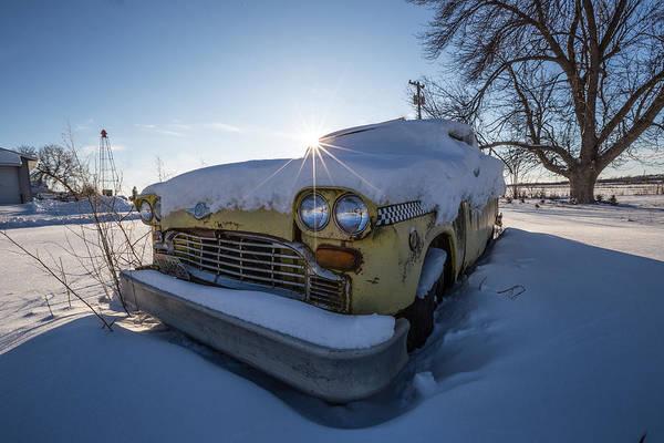 Wall Art - Photograph - Frozen Taxi by Aaron J Groen