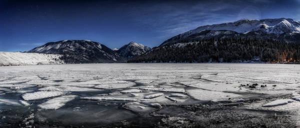 Wall Art - Photograph - Frozen Wallowa Lake by Cat Connor