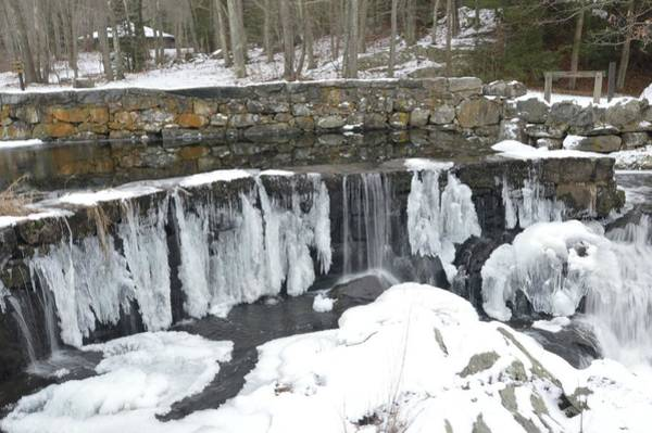 Photograph - Frozen Waterfall by Charles HALL