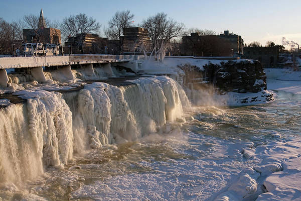 Photograph - Frozen Waterfalls by Tatiana Travelways