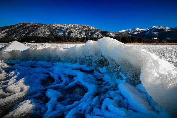 Herron Photograph - Frozen Wave by Mike  Herron