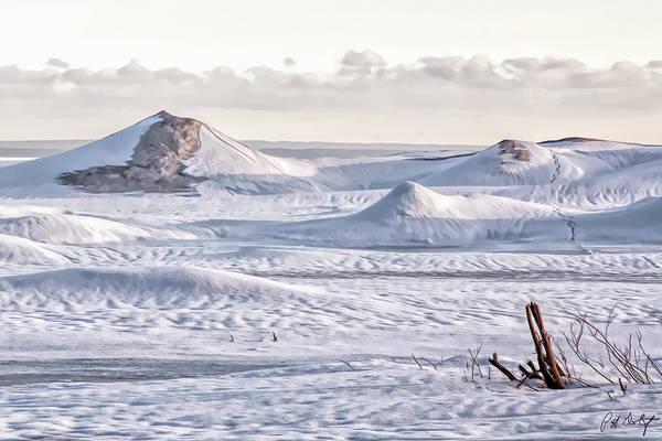 Great Lakes Region Wall Art - Digital Art - Frozen Waves On Erie by Phill Doherty