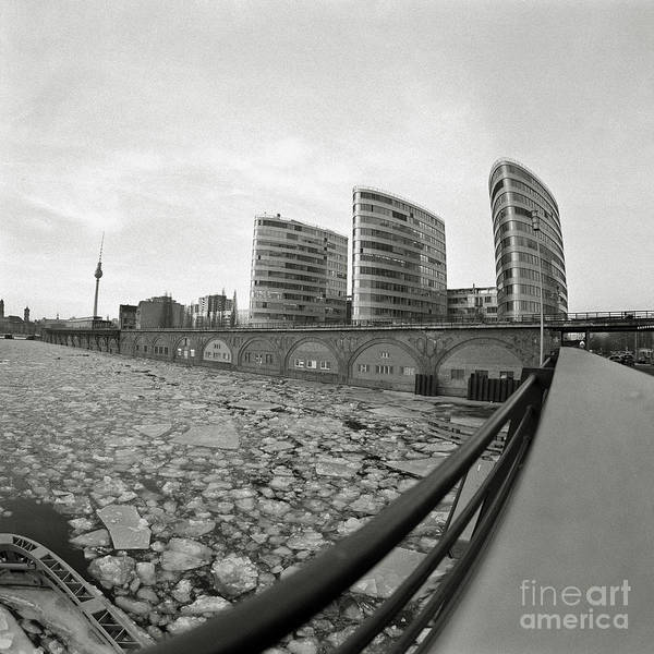 Photograph - Frozen Berlin Sound by Silva Wischeropp