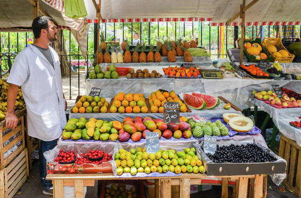 Photograph - Fruit And Vegetable Market In Ipanema, Rio De Janeiro by Alexandre Rotenberg
